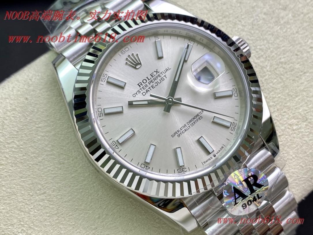 "AR厂手表劳力士ROLEX DATEJUST进口""904L""日志型41系列126334全新""V3""複刻錶"